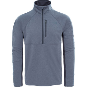 The North Face M's Ambition 1/4 Zip Long Sleeve Shirt TNF Medium Grey Heather/Asphalt Grey